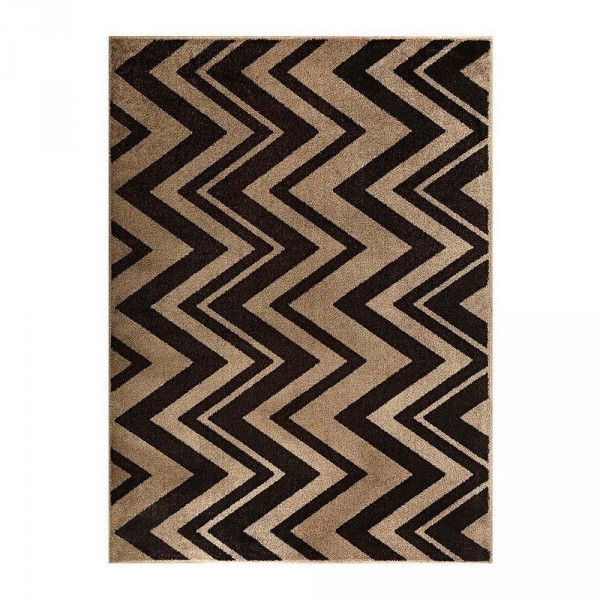 Tapete J Serrano Classic Chevron 079 1,50 x 2,00 - Caramelo